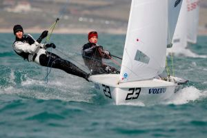 Mike Wood and Hugh Brayshaw,420 Class,GBR 53966