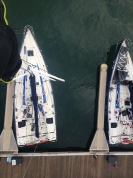 Pre race mast check